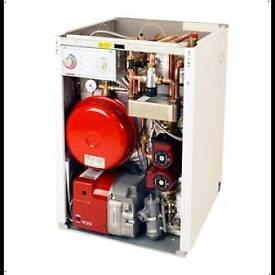 Oil utility combi boiler