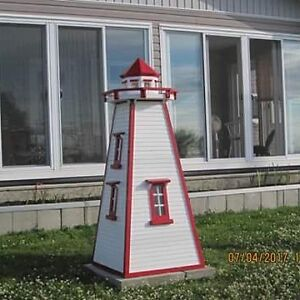 6 foot cedar lighthouse s