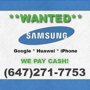I will BUY your PHONE for CASH! Samsung S7/S8/S9/S10/Plus/Note 8/9/Google Pixel 2/3/XL/Huawei