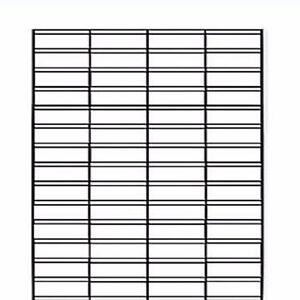 SLAT GRID PANELS - 2ft X 6ft BLACK $20