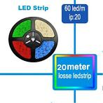 Extra Lang LED Strip RGB rol van 20 meter los led type 5050