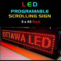 ◆ LED Programmable Message Sign - Moving Scrolling Flashing