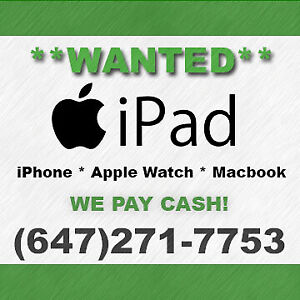 Buying iPad for CASH now!