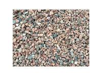 PINK GRAVEL / PINK PEBBLES - decorative stones