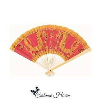 WOODEN & PAPER CHINESE NEW YEAR FAN
