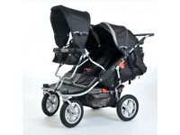 T3 Jogger - Triple / Double buggy - Can be converted into a quad - Excellent Condition