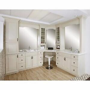 Solid Maple Kitchen&Bath Cabinets 50% OFF, Granite/Quartz Countertop From $45Installed, Free Sinks