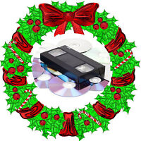 ***Christmas Special*** Vhs to Dvd tranfers- 3 Transfers for $20