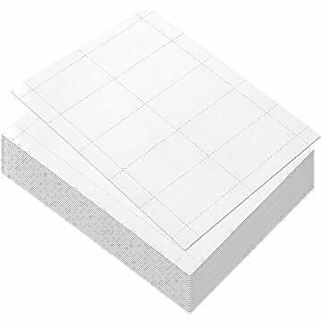 100 Sheets-blank Business Card Paper - 1000 Business Card Stock For Inkjet And