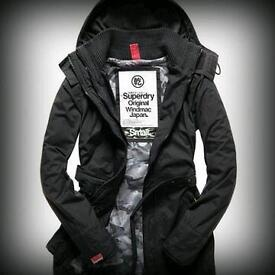 Brand new superdry windcheater windmac jacket for sale