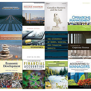University Business and Accountings Textbooks for Sale