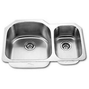 Double Bowl Under-Mount Kitchen Sink