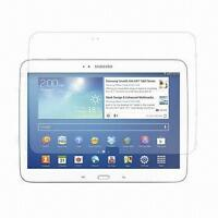 "Film protecteur Samsung Tab 3 10"" tablet screen protector 5$"