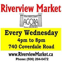 **VENDORS WANTED** Riverview Market (formerly Agora Market)