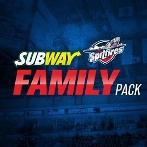 Windsor Spitfires - Subway Family Pack