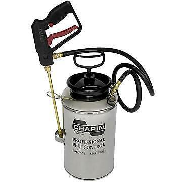 Chapin 10800 Pest Control Sprayer Tri-lock Stainless Steel Tank