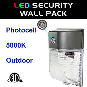 LED Wall Mounted Area Security Wall Pack Light cETL