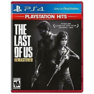 THE LAST OF US REMASTERED (PS4) - ENGLISH - NEW $34