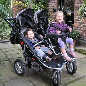 T3 triple Pram buggy pushchair