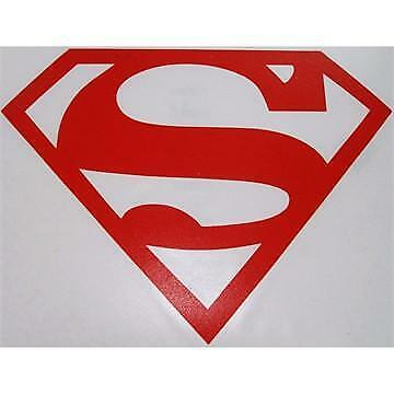 Superman Window Car Truck Vinyl (Superman Decal)