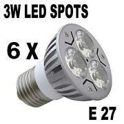 LED Lampen E27 3W