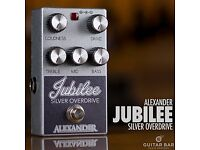 alexander silver jubilee overdrive pedal looking to trade