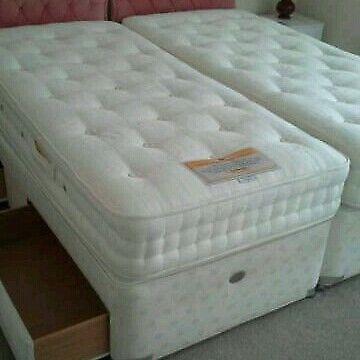 Extra long single divan beds