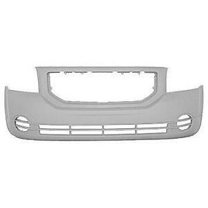 NEW PAINTED 2007-2012 DODGE CALIBER FRONT BUMPERS +FREE SHIPPING