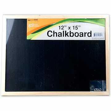 Chalkboard 15 X 12 Black Board Reminder Office Supplies School Bar Cafe