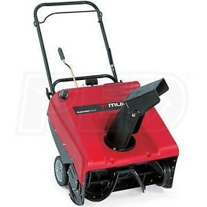4.5 Hp Murray electric start  2 stroke SNOW BLOWER THROWER 100% Serviced Never needs Oil Change Great machine