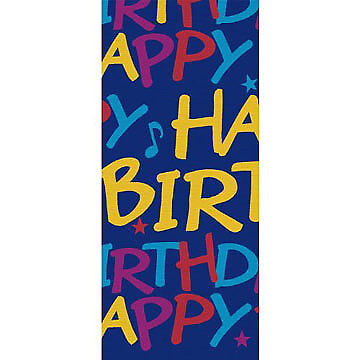 Birthday Notes Table Cover