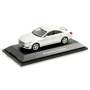New Genuine Mercedes 1/43 CLS C218 Silver Norev Model Car