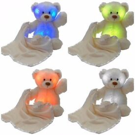 Chad Valley Baby My First Lullaby colour changing Bear Brand New In Box