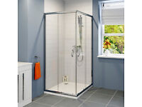 900mm x 900mm Shower Enclosure (New)
