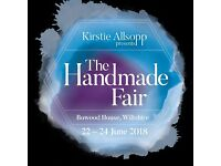 2 Tickets for Kirstie Allsopp's Handmade Fair at Bowood House, Wiltshire
