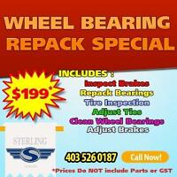 Repack Wheel Bearings