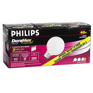 philips duramax vanity 40W light bulb