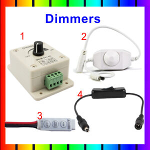 Dimmers Switch for LED Single Colour Strip Lights