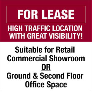 HIGH TRAFFIC LOCATION ON LANCASTER WITH GREAT VISIBILITY!