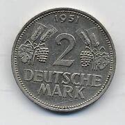 2 DM Münze