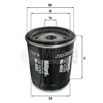 Oil Filter W71315 for Rover-LPW 100180