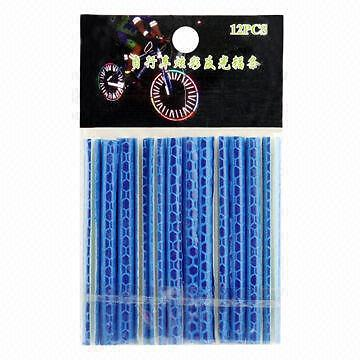 12pcs Blue Bicycle Wheel Reflector Spoke Bike Cycling