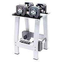 HoisT Adjustable Dumbells and Stand gym weights exercise