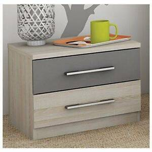 Maya 2 Drawer Bedside Table - brand new Rosebery Palmerston Area Preview