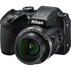 NIKON COOLPIX P500 12.1MP DIGITAL CAMERA - BLACK - USED $299