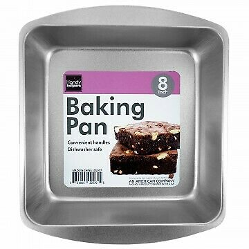 8 INCH SQUARE BAKING PAN