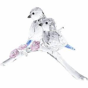 Swarovski Crystal -  Blue Tits Bird Couple Marsfield Ryde Area Preview