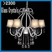 Crystal Ceiling Light Shades