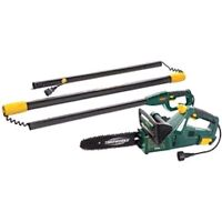 Yardworks 7.5A 2-In-1 Electric Chainsaw And Polesaw