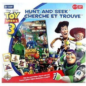 jeu de société Cherche et trouve Toy Story 3 ( 3 à 7 ans )